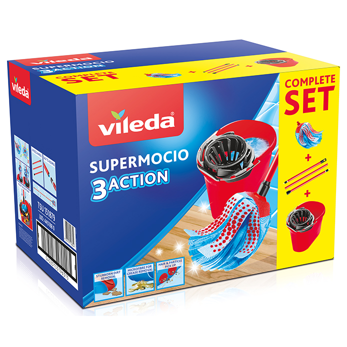 Vileda SuperMocio 3Action Complete Box